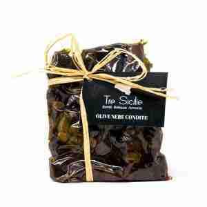Olive Nere Siciliane Condite