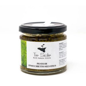 Pesto di Finocchietto Selvatico Siciliano