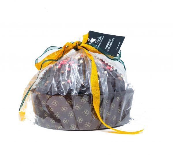 Panettone Artigianale ai quattro Cioccolati