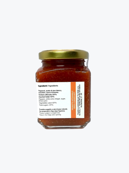 Confettura extra di Peperoni